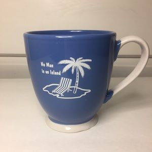 "Other - ""No Man is an Island"" 16oz Mug. EUC"